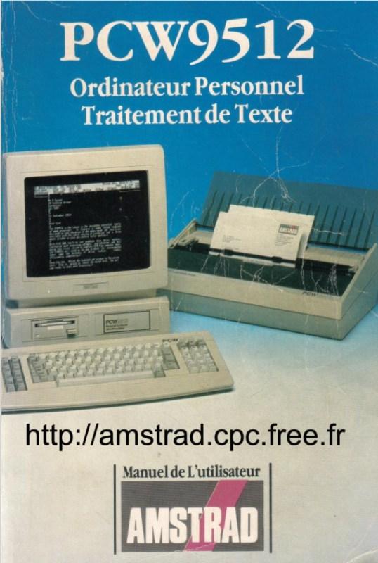 PCW9512 Manuel de l'utilisateur