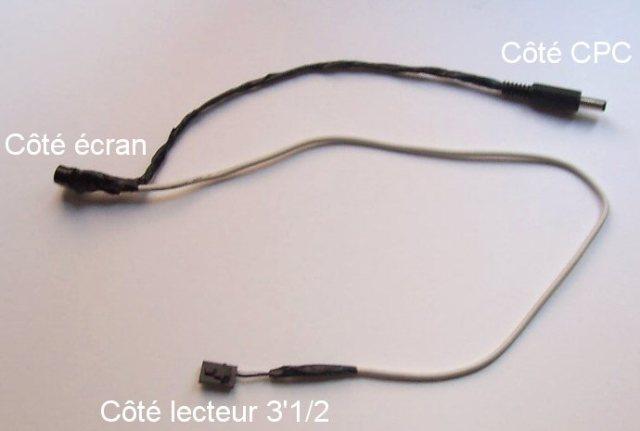 Alimentation lecteur 3'1/2 externe (éco)