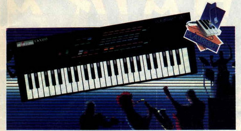 Clavier musical CKX100 (Amstrad 100% n°17 – 1989)