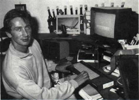 Thierry Lhermitte (Amstrad 100% n°11 – Janvier 1989)