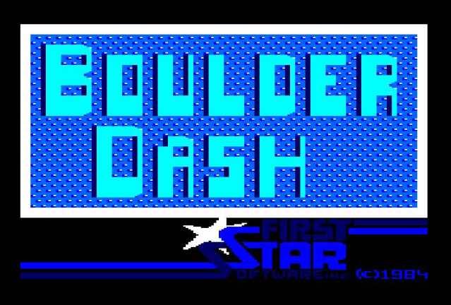 Boulder Dash (Test de PacoRabanne)