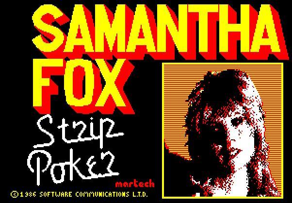 Samantha Fox Strip Poker (test de Fagal)