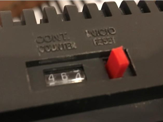 Amstrad CPC 464 : Bouton Reset du compteur k7 (Karnov)