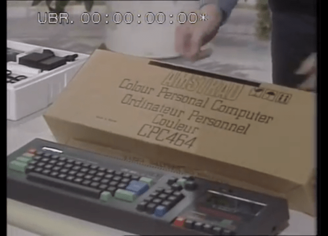 Retro computer unboxing (Thames TV Show Four Computer Buffs 1985)
