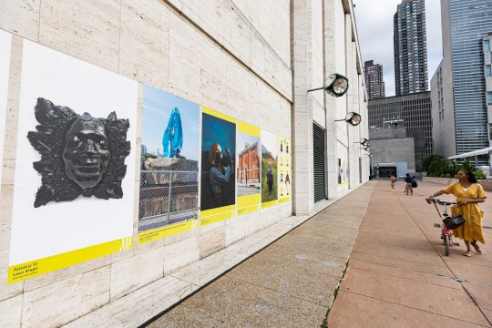 Works by students at Parsons School of Design and Athens School of Fine Arts featured at Lincoln Center (NYC) and the Stavros Niarchos Foundation Cultural Center (SNFCC, Athens)