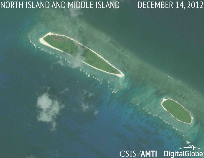 update china s continuing reclamation in the paracels asia