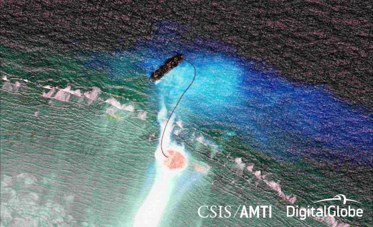 Cuarteron Reef dredging