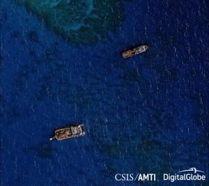 Johnson Reef Ships