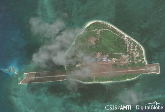 Thitu Island After