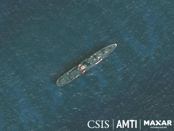 China Coast Guard 5401, February 13, 2020