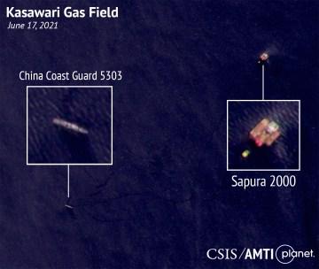Kasawari Gas Field, June 17, 2021