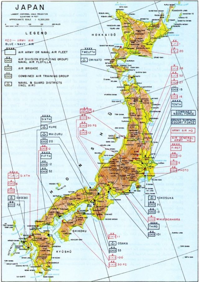 Japanese Force Dispersion