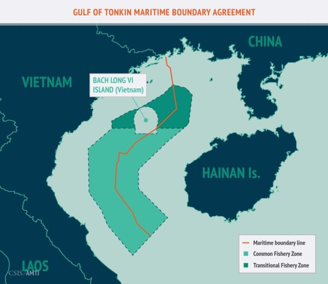 Gulf of Tonkin Maritime Boundary Agreement