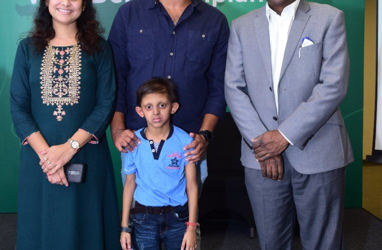 Master Samaksh Jain becomes Asia's youngest patient to receive Advanced Dental Implant