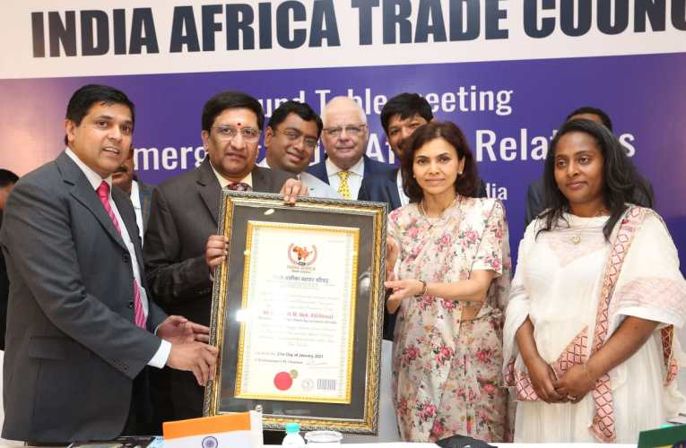 OPENING OF INDIA AFRICA TRADE COUNCIL IN INDIA