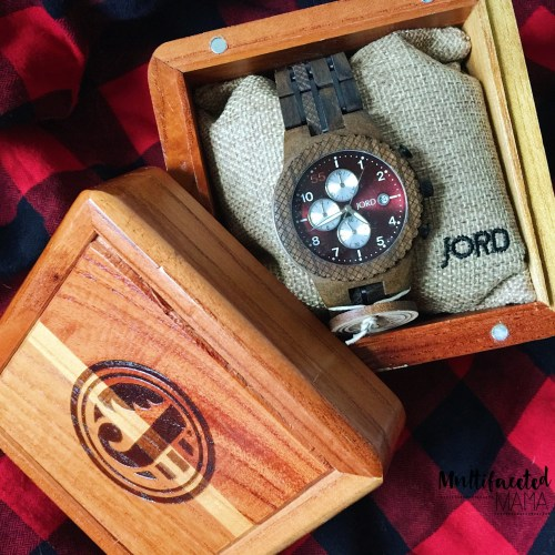 unique gift for men Jord wood watch coupon