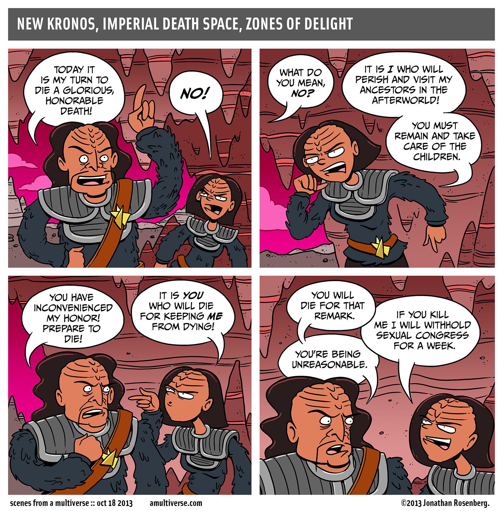 star wars needs more klingons