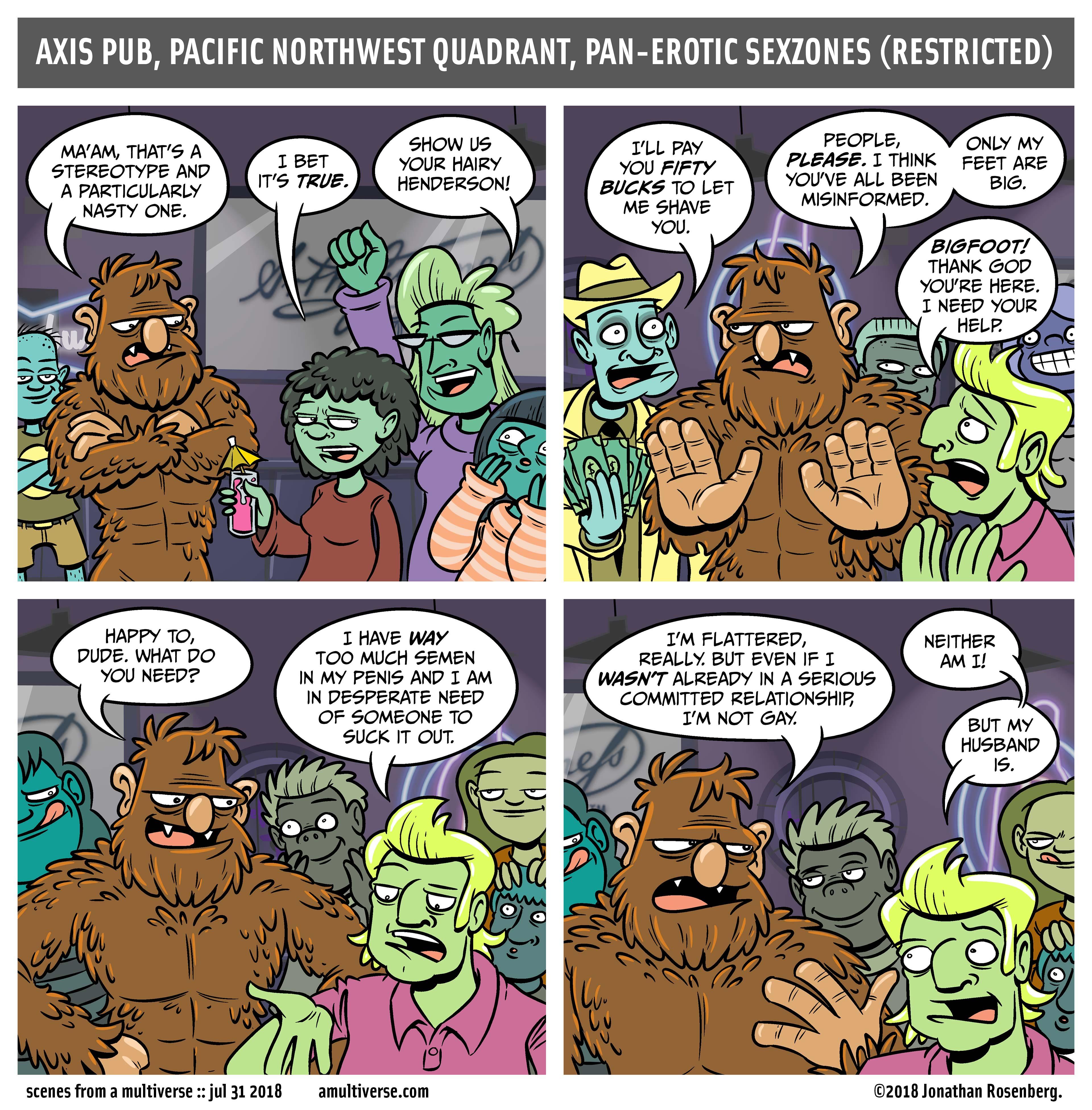 True Tales of Erotic Bigfoot