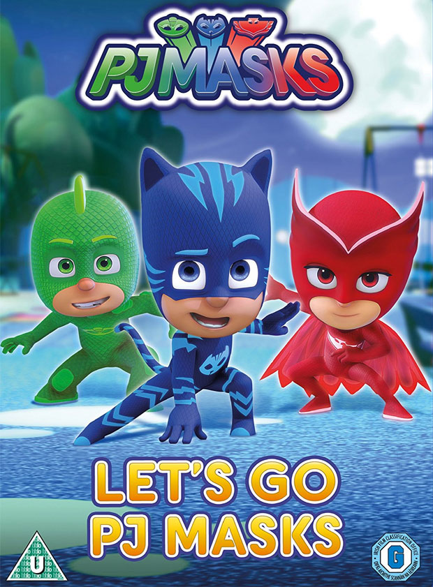 Brand New Lets Go PJ Masks DVD Launching This February
