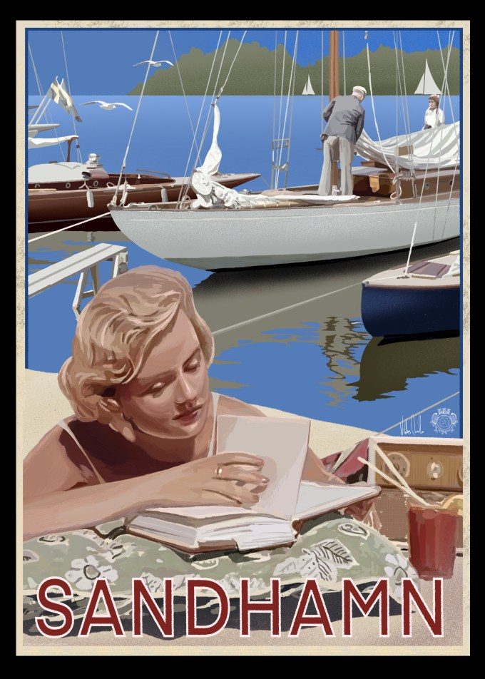 Sandhamn Regatta Poster