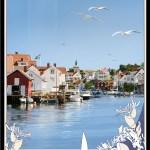 Sommar Grundsund Poster