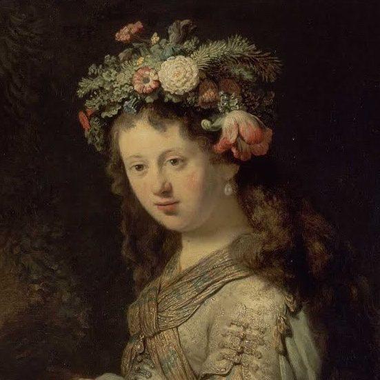 Флора, Рембрандт Харменс ван Рейн, 1634 г.