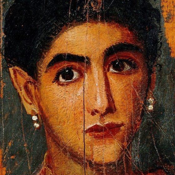 Портрет молодой жінки, друга половина II ст.