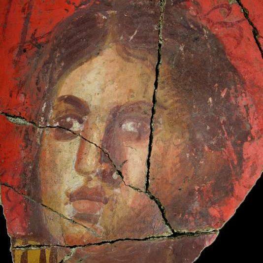 Фреска, римська вілла, I ст. до н.е., Арль