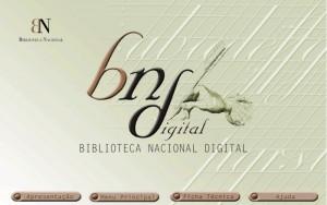 Biblioteca Nacional Digital: página de entrada. BND, 2002.