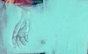 """Descida da cruz II (detalhe) Mário Rita, 2015 Exposição """"Les Voyeurs"""""""
