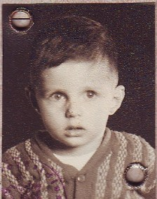 Peter Dodds as young child