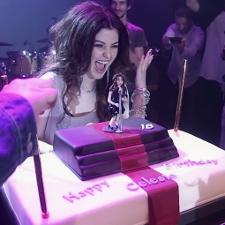 Celeste Buckingham birthday surprise