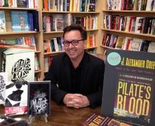 J Alexander Greenwood book signing