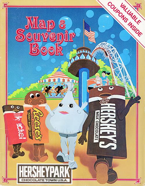 Hersheypark Maps Database The Amusement Parkives