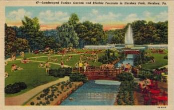 1937 Sunken Gardens