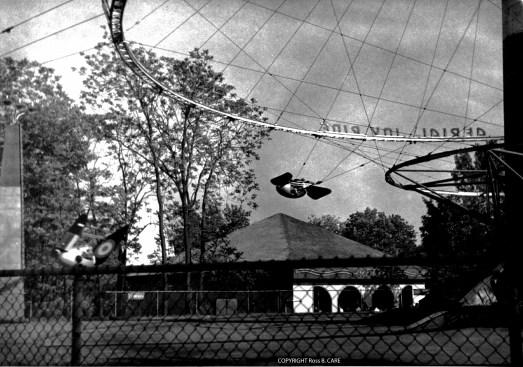1950 circa Aerial Joy Ride [Ross B. CARE]