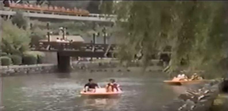 1985 circa Paddleboats