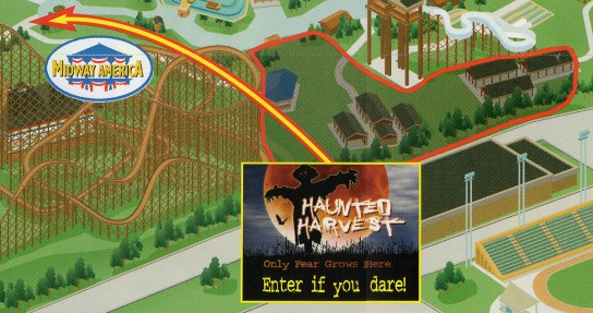 2004 Haunted Harvest Map
