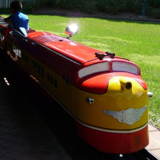 Miniature Train circa 1998