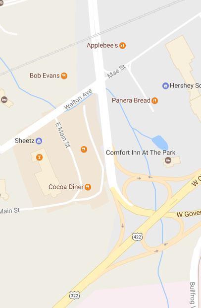 HP Drive-Walton intersection