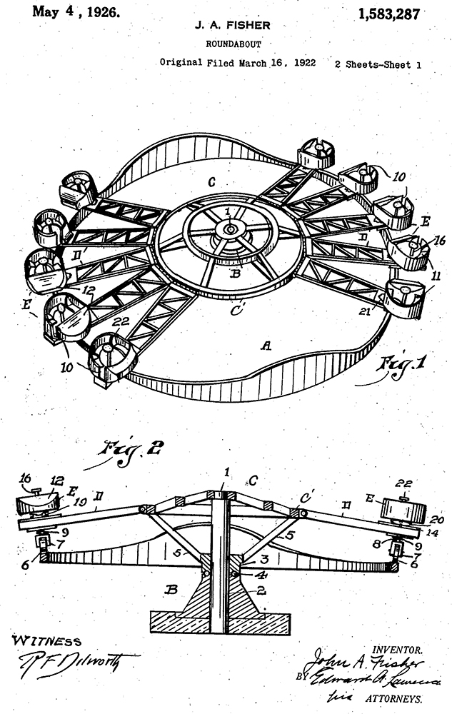 Roundabout patent