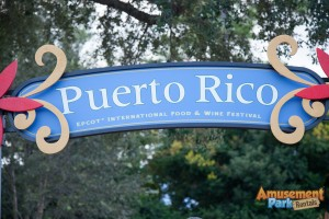 Epcot International Food and Wine Festival 2013 - Puerto Rico