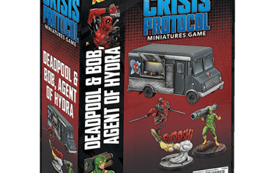 Marvel Crisis Protocol Deadpool & Bob Agent of Hydra