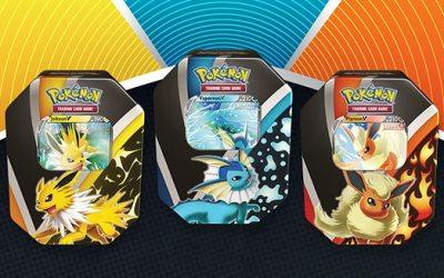 Pokemon Eevee Evolution Tins Evolving Skies
