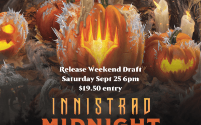 Innistrad Midnight Hunt Release Weekend Booster Draft