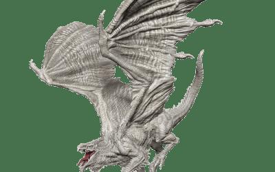 D&D Nolzur's Marvelous Miniatures: Adult White Dragon Wave 15 90325