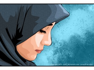 Feeling despair? Oh Muslim Woman Remember Allah! cover amuslima