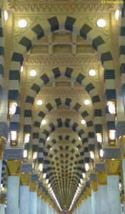 Inside of Masjid Nabawi, Madinah by AA Sumadri  Taraweeh & Ramadan Complete Each Other. Are you going to strive to complete your Deen? masjid nabawi dalam aa