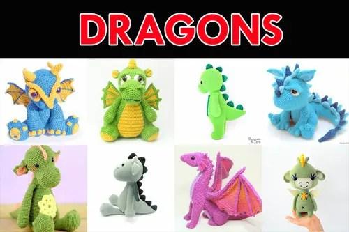 Ravelry: Small But Mighty Dragon pattern by Sharon Ojala   333x500