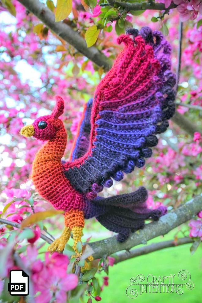 Free Crochet Bird Patterns | Crochet projects, Crochet patterns ... | 990x660